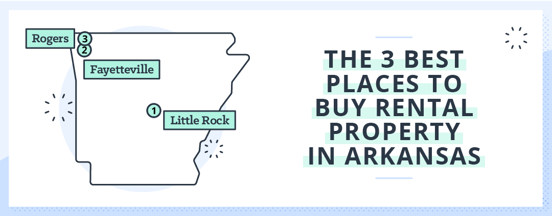 best places for rental investment in arkansas